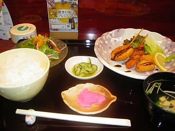 食楽アドバンスの日替わり定食