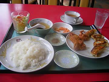 中華料理 赤門のサービスランチ