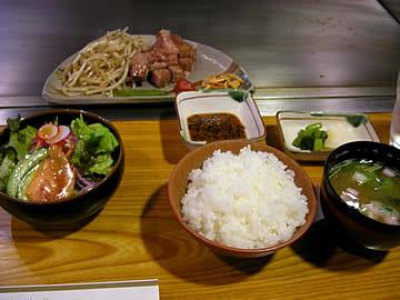 弁慶ステーキ&シャブシャブ のステーキランチ