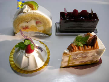 トゥール・モンド・シュシュchou chouのケーキ