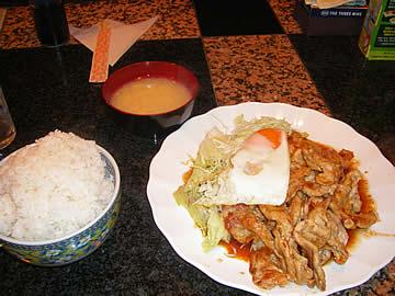エトランゼの焼肉定食