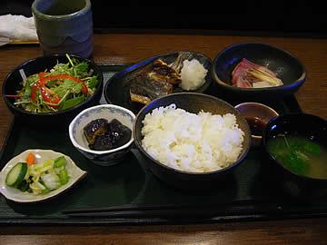 魚菜の日替わりランチ