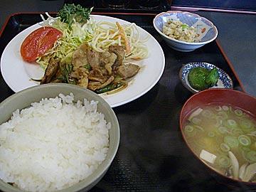 花や串焼ラーメン食堂のゴーゴーランチ