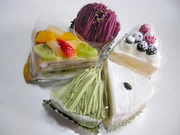 洋菓子のホッポのケーキ