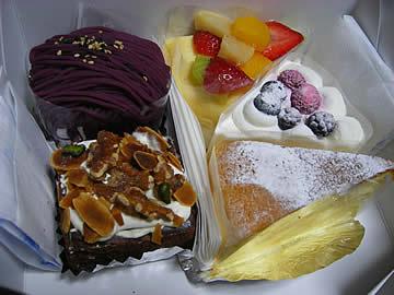 洋菓子ホッポのケーキ
