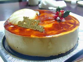 パティスリーホソヤのクリスマスケーキ
