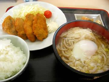 ホットちゃんのカキフライ定食