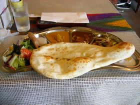 印度料理の店ホットハウスのランチ