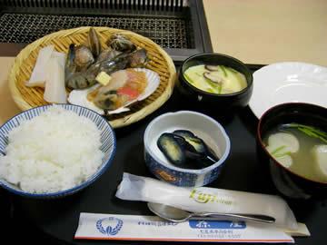 あみやきレストラン ふじの海鮮定食