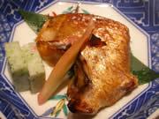 まっとう福喜寿司ののどくろの焼き物
