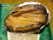 まっとう福喜寿司のアワビ