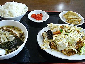 台湾家庭料理 福興の回鍋肉セット