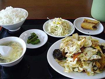 台湾家庭料理 福興の日替わりランチ