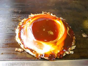 鶴橋風月のお好み焼き