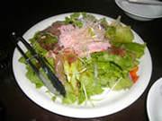 居乃一BANのズワイガニと生ハムのカニ味噌サラダ