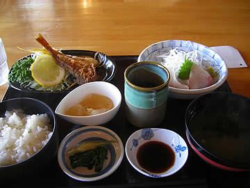 海鮮レストランいおりのいおり定食