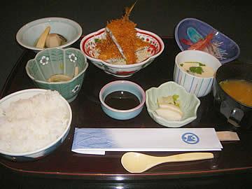 能登食祭市場 加賀屋の本日の昼御膳
