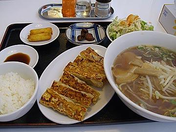 華府味道の焼き餃子ランチ