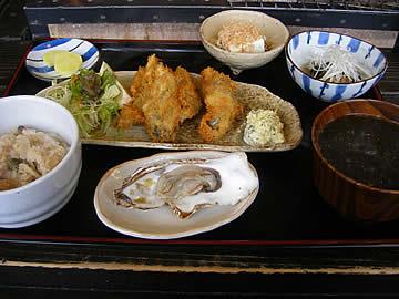 かき処 海(かい)のカキフライ定食
