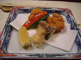 山乃尾 海遊亭の料理