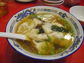 華龍亭のスープ餃子