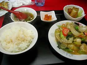 餃子菜館 勝ちゃんの日替ランチ