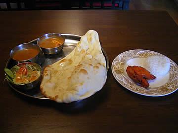 インド&ネパールレストラン キランのCセット