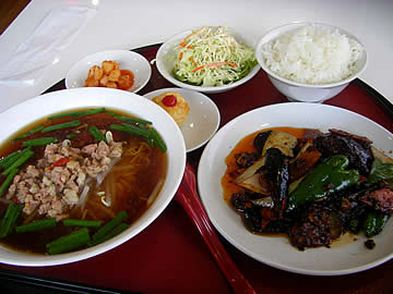 台湾料理 小雪 羽咋店の日替りランチ