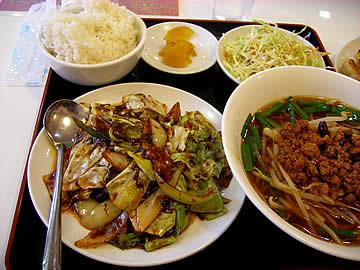 台湾料理 小雪 今浜店の日替わりランチ