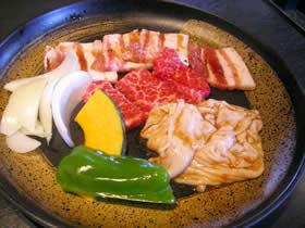 焼肉 蔵の焼肉定食