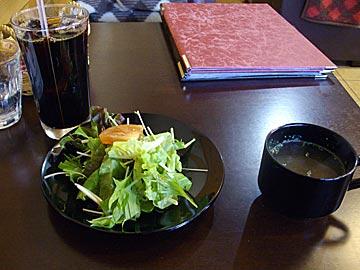 ランドマークカフェの日替わりパスタランチ