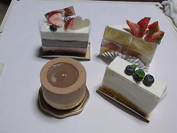 ラ・パレットのショートケーキ