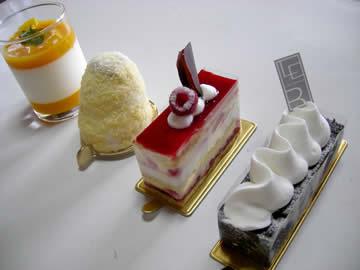レピ・ド・ブレのケーキ