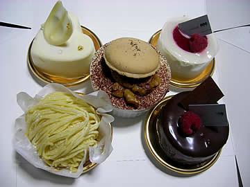 ロンシャンのケーキ
