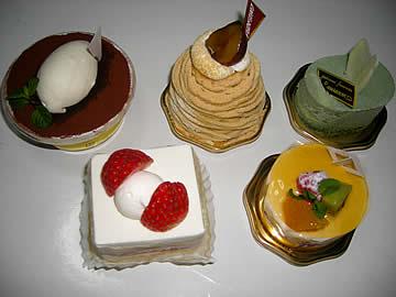 ローザンヌのケーキ