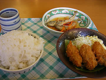 和倉まかない食堂の料理