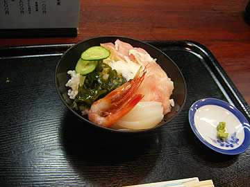食事処ままやの海鮮丼