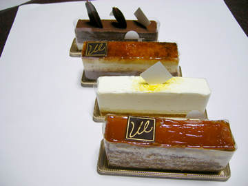 アミューズグール マニエールのケーキ
