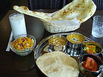 インド&ネパール料理レストラン Nan Houseのランチ