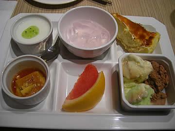 イタリアンビュッフェ オリーブのデザート