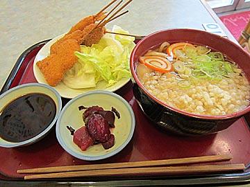 大阪串かつ屋の串かつ定食