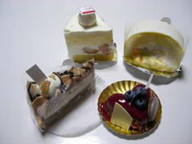 パティスリー ラ・ナチュールのケーキ