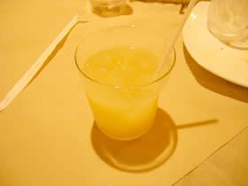ビストロ レガルのグレープフルーツジュース