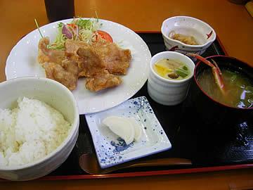 アクアパーク シ・オン レストランの日替定食