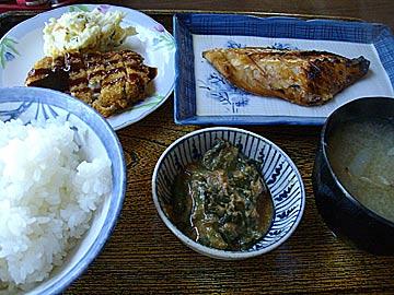 志お食堂の日替定食