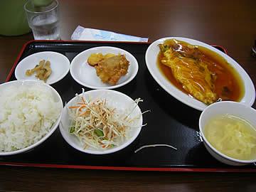 中華料理 翠園の日替ランチ