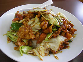 中華料理 翠園の回鍋飯