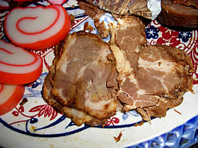 スミヤ精肉店の焼豚
