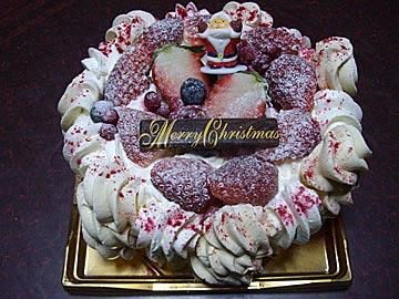 サンニコラのアイスクリームケーキ「アントルメ・グラッセ ヴァシュラン」