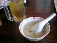 上海凱門の中国茶とスープ